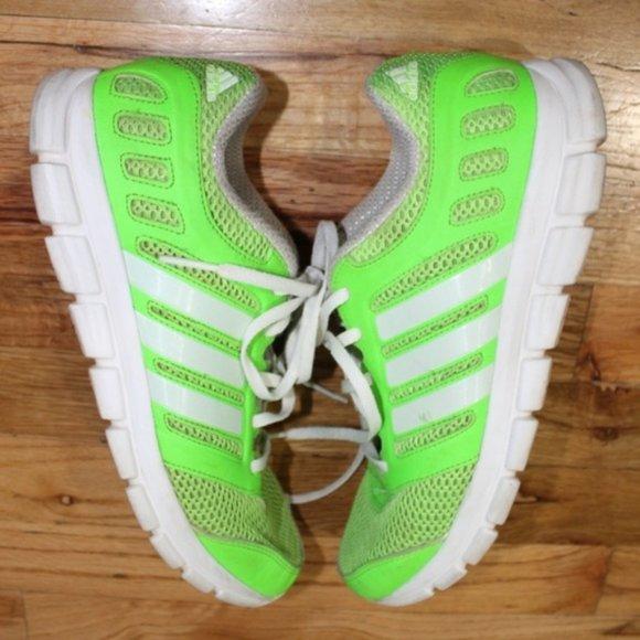 diversione Insistere gennaio  adidas Shoes   Adidas Neon Green Breeze 1 Running Shoe Men Sz 9   Poshmark